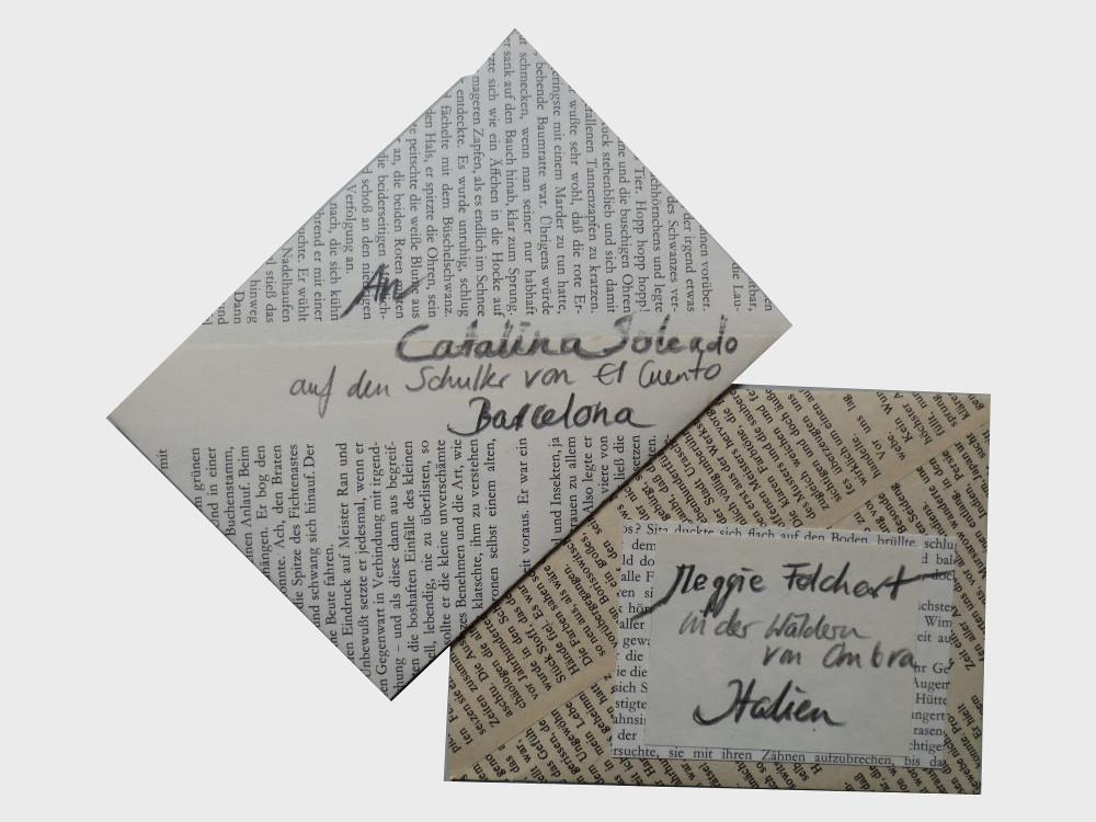 Briefumschlag Dorothea Koch