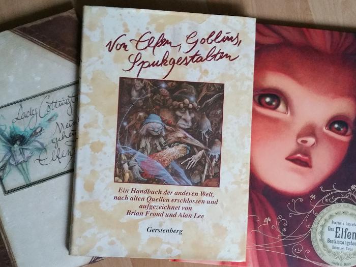 Bücher über Elfen lesen. Ich empfehle Dir hierzu das Elfen-Bestimmungsbuch von Benjamin Lacombe oder das Buch Elfenkuss von Aprilynne Pike. Buchempfehlung von Dorothea Koch.