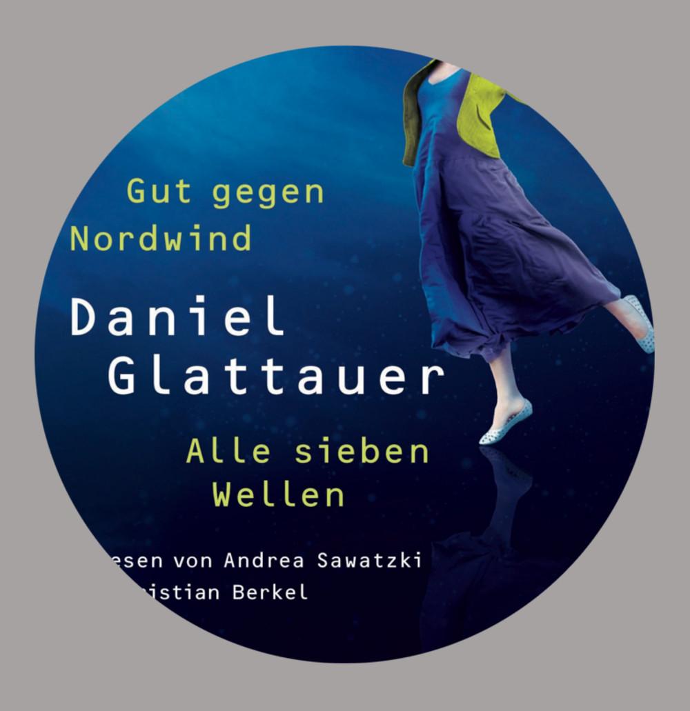 Hörbuch hören beim Briefumschlag basteln: Briefroman: alle sieben Wellen von Daniel Glattauer