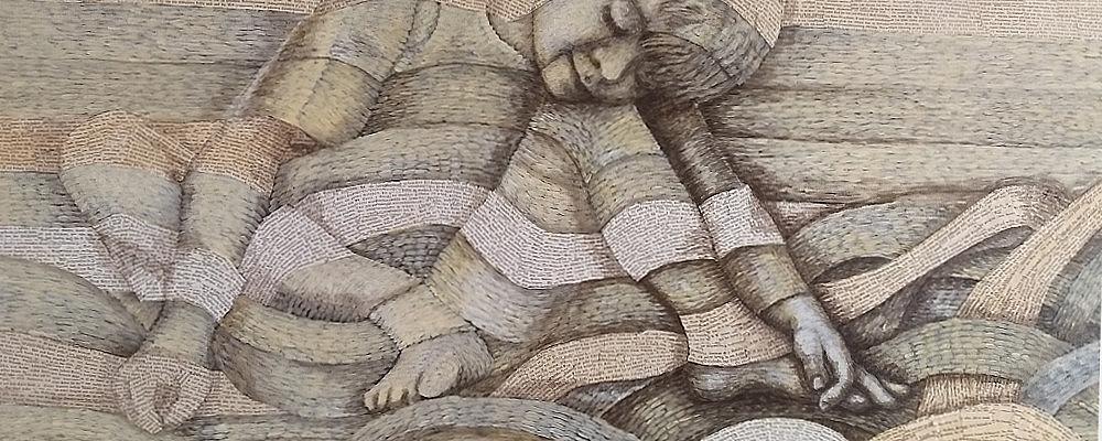 Book Art Collage: Wunder. Kunst aus alten Büchern. Der schönste Moment beim Lesen ist der, bei dem die Worte vor den Augen verschwimmen und sich zu Bildern und Gefühlen formen.