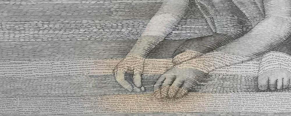 Die Buch Kunst von Dorothea Koch sind Bilder für Bücher liebende Bibliophile. Für Lesefreunde, die gemeinsam e Wünsche träumen: sie träumen davon, das Samstags das sams kommt, dass endlich der Brief aus Hoggwards ankommt und das die Schönheit der Worte das Herz wärmt.