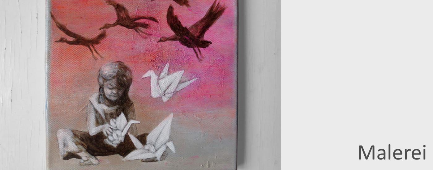 Acrylmalerei: Werkreihen der Nürnberger Künstlerin Dorothea Koch, phantasievolle Bilder auf Leinwand.