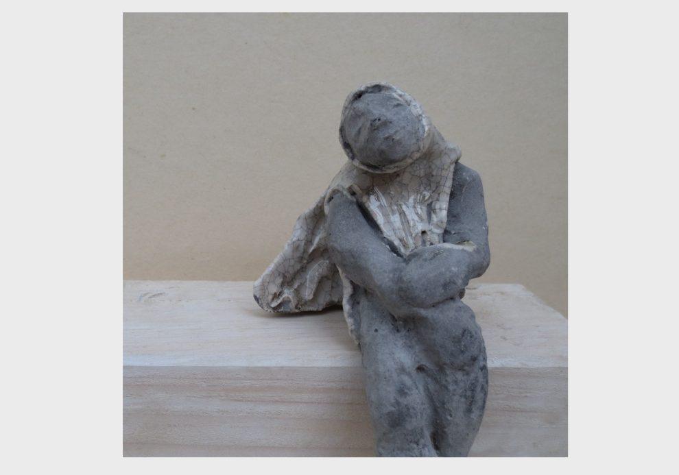 paper clay figur