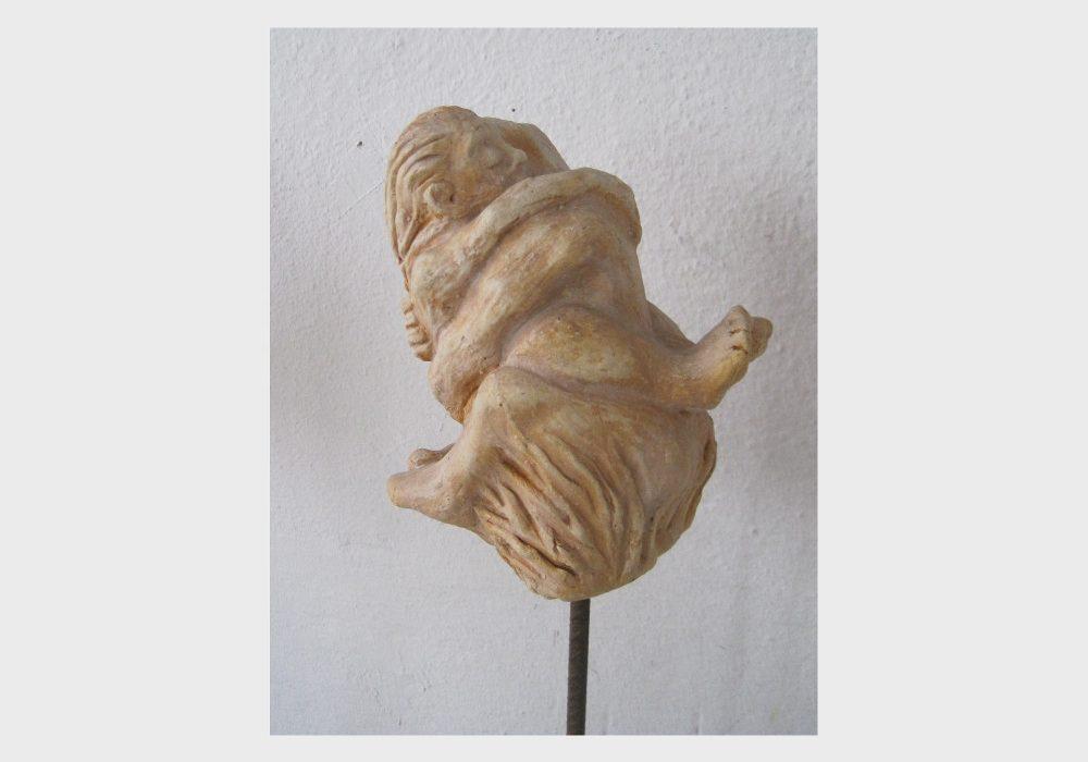 Keramik eines liebenden Paares