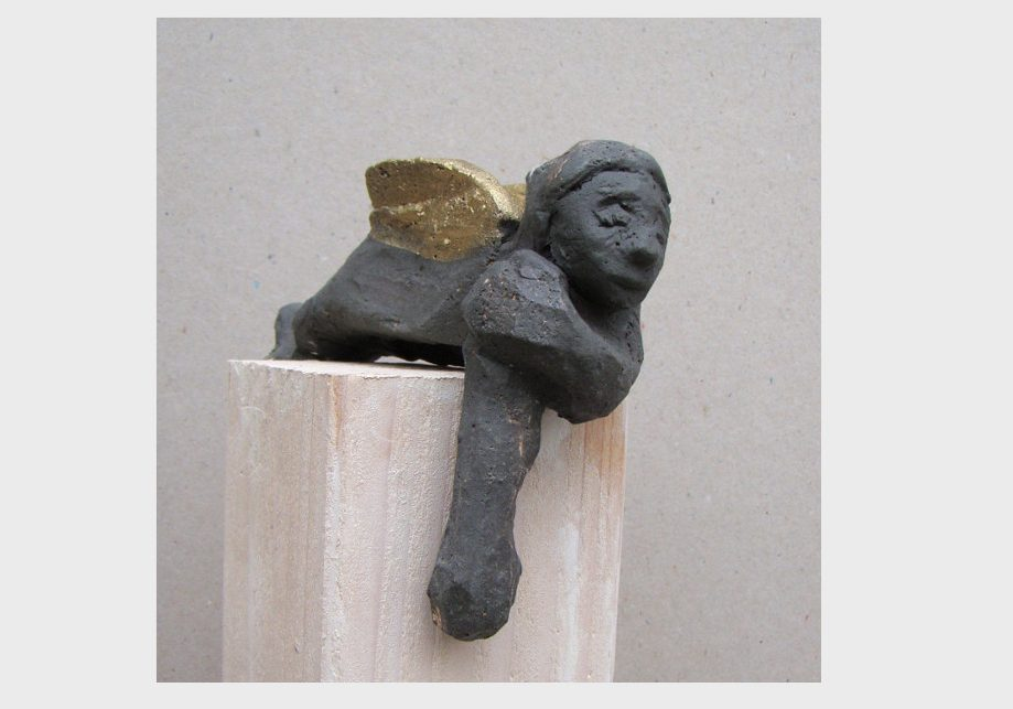 schwarzer engel keramik