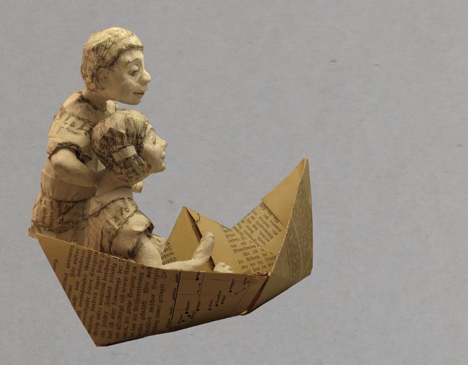 Book-art-Diy-papierschiff