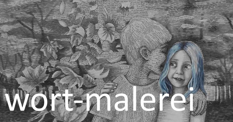Book-art der Nürnberger Künstlerin Dorothea Koch. Alte, zerliebte Buchseiten werden zu neuem Leben erweckt und erzählen auf der Leinwand die Geschichte weiter. Acrylmalerei im Pointilismus Stil mit Collagen aus alten Büchern. Upcycling Kunst für bücherliebende Leseratten und bibliophile Kunstfreunde.