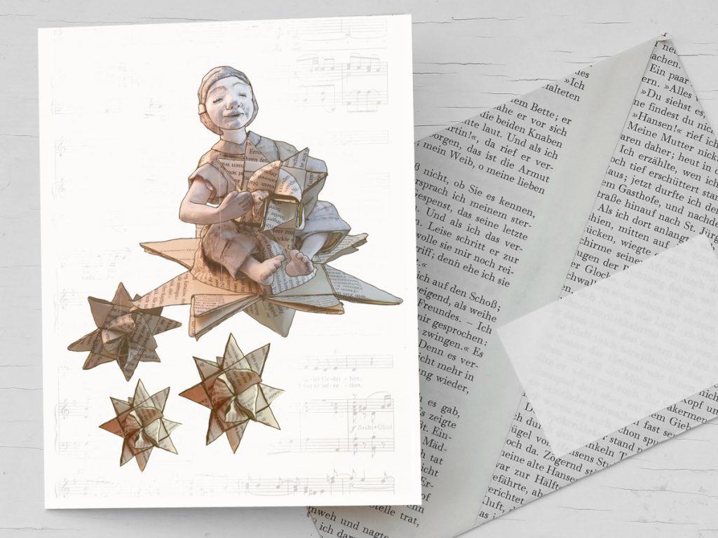 Büchergutschein zu Weihnachten