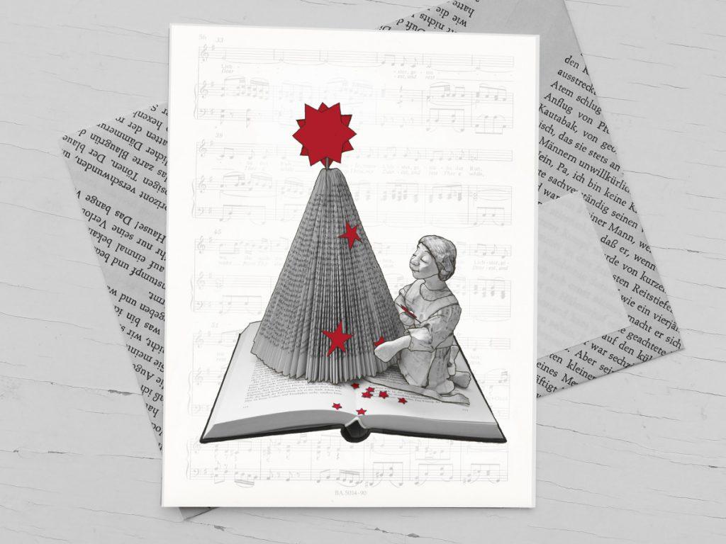 Literarische Weihnachtskarte